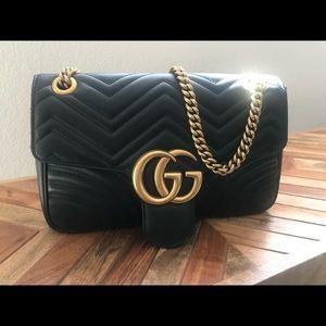 Black Gucci Mormont MEDIUM